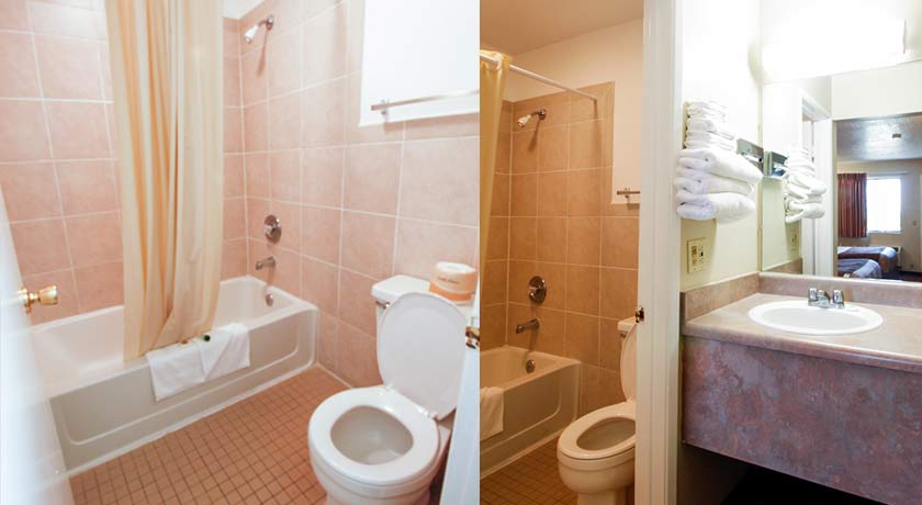 clean bathroom in san diego ca hotel